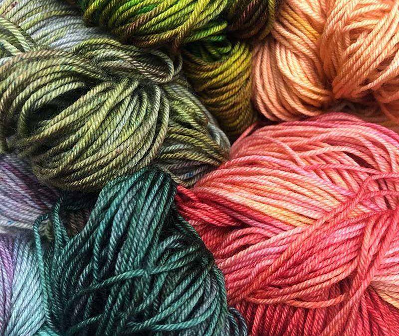 laine honey wool teintes à la main