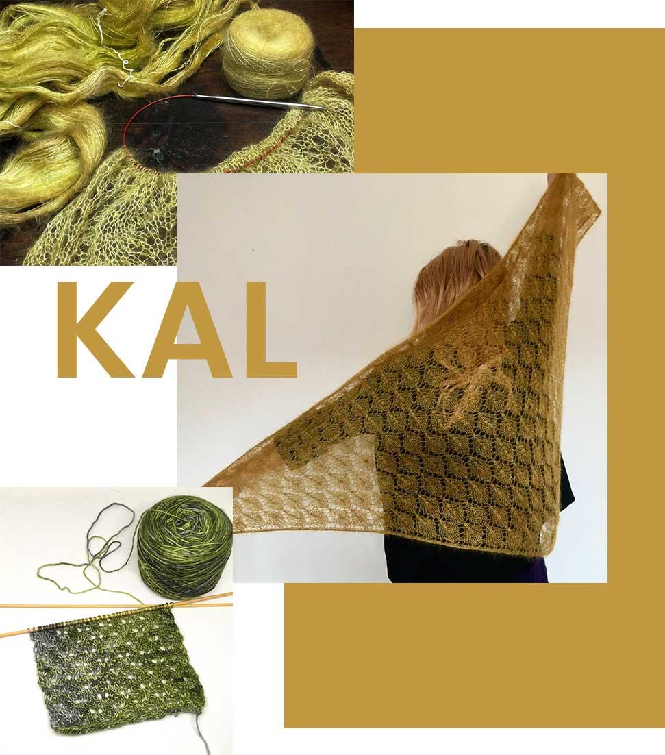 montage photo d'images de tricot